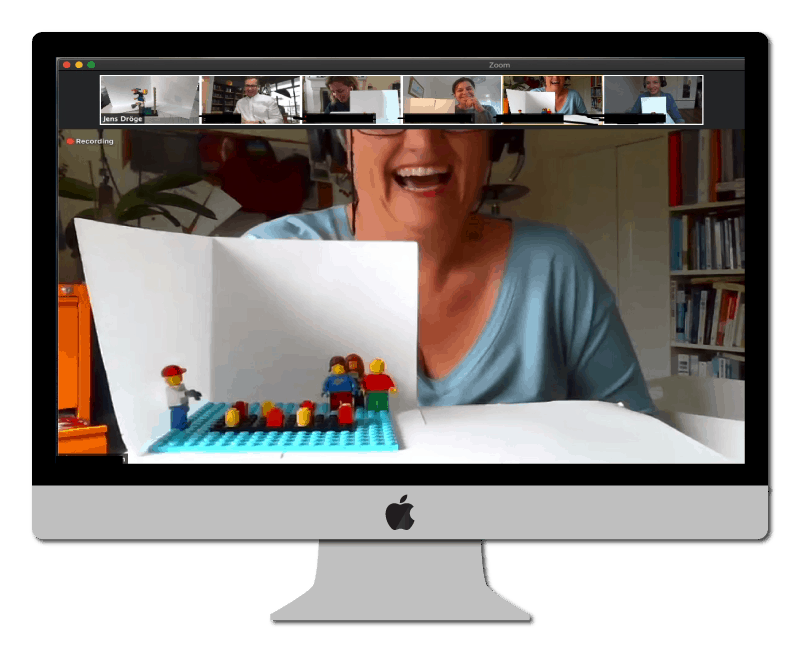 Online LEGO Serious Play Workshop: Gemeinsames Modell